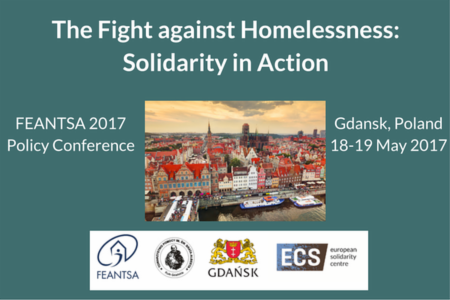>News: Registrations for the FEANTSA Policy Conference in Gda?sk close