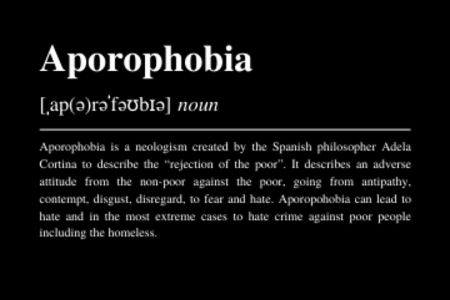 >Webinar - Aporophobia: Challenging Hate Crime Against People Experiencing Homelessness in the EU