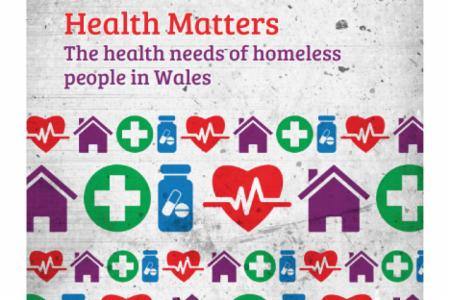 >News: Cymorth Cymru Publish Report on Health Needs of Homeless People in Wales