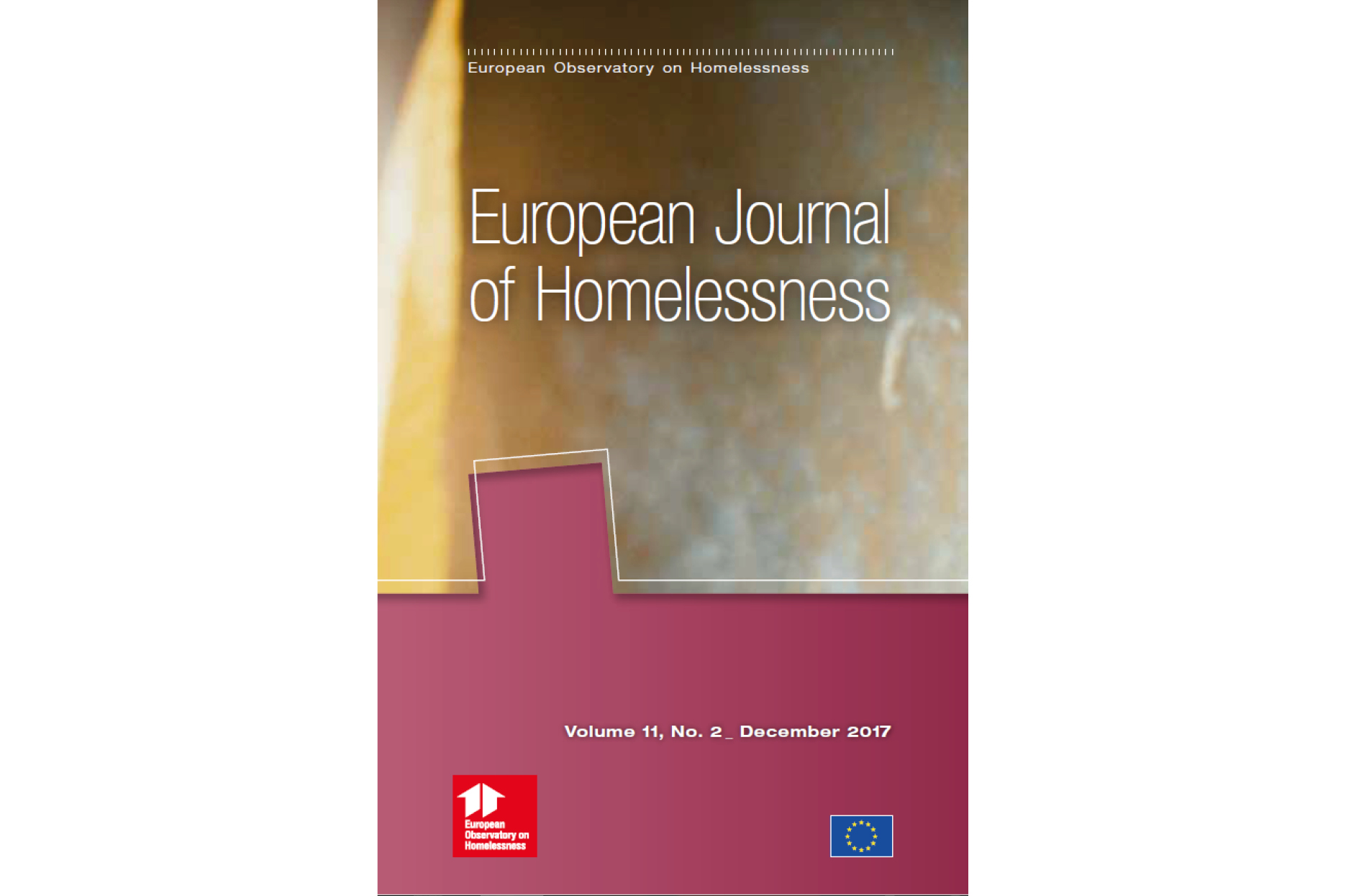 European Journal of Homelessness: Volume 11, Issue 2 - 2017
