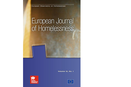 European Journal of Homelessness: Volume 12, Issue 1 - 2018