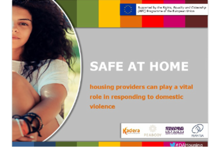 >Presentation of recommendations to policy makers and housing providers Round table on the 'Safe at Home' project