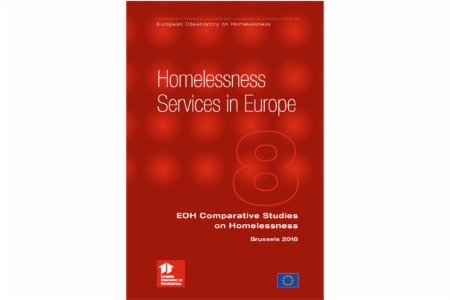 Comparative Studies on Homelessness: Number 8 - 2018