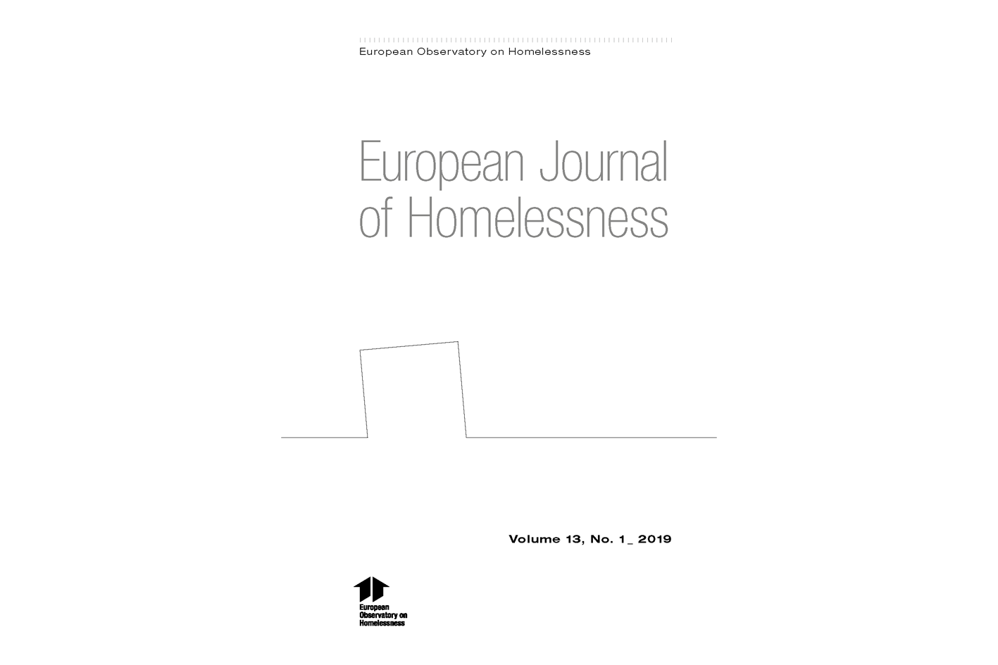 European Journal of Homelessness: Volume 13.1 -  2019