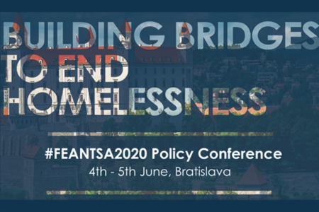 >#FEANTSA2020 Policy Conference - Building Bridges to End Homelessness