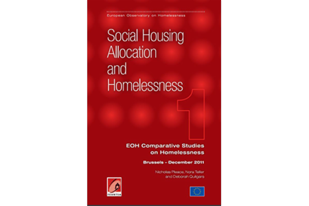 Comparative Studies on Homelessness:  Number 1 - 2011